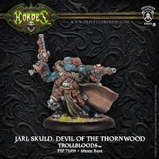 Hordes - Trollbloods - Jarl Skuld, Devil of the Thornwood available at 401 Games Canada