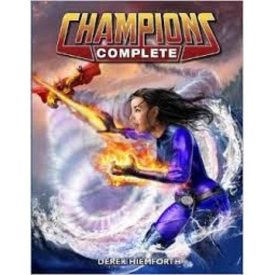 Champions Complete - Core Rulebook - 401 Games