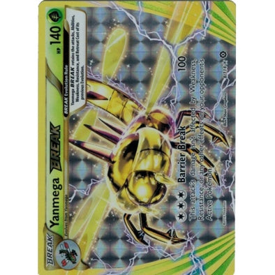 Buy Yanmega BREAK - 8/114 and more Great Pokemon Products at 401 Games