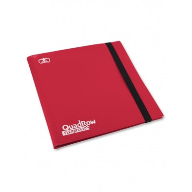 Buy QuadRow Flexxfolio - Red and more Great Sleeves & Supplies Products at 401 Games