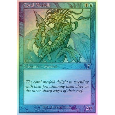 Coral Merfolk (Foil) available at 401 Games Canada
