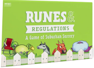 Runes & Regulations available at 401 Games Canada