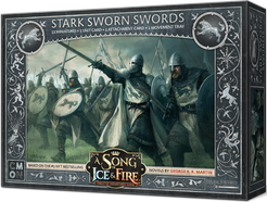 A Song of Ice and Fire - Tabletop Miniatures Game - House Stark - Stark Sworn Swords - 401 Games