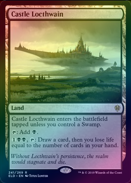 Castle Locthwain (Foil) (ELD) available at 401 Games Canada