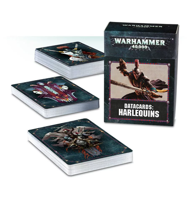 Warhammer 40,000 - Datacards: Harlequins - 8th Edition available at 401 Games Canada