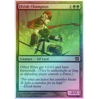 Elvish Champion (Foil) available at 401 Games Canada