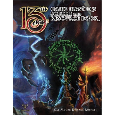 Buy 13th Age - GM Screen and Resource Book and more Great RPG Products at 401 Games