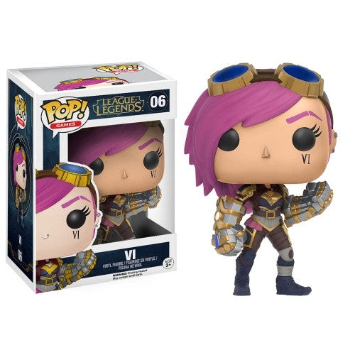 Buy Pop! League of Legends - Vi and more Great Funko & POP! Products at 401 Games