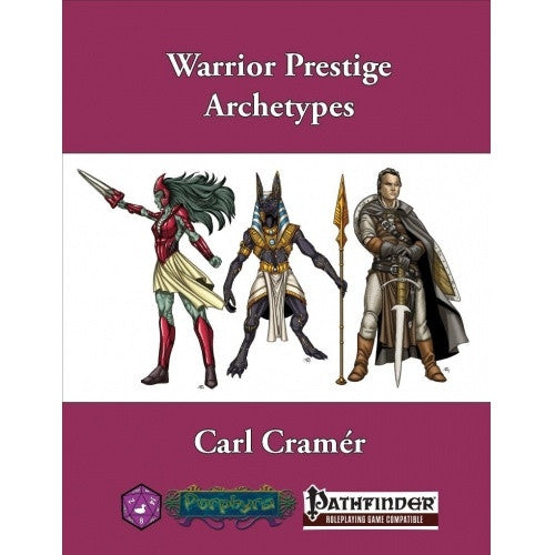 Pathfinder - Warrior Prestige Archetypes available at 401 Games Canada