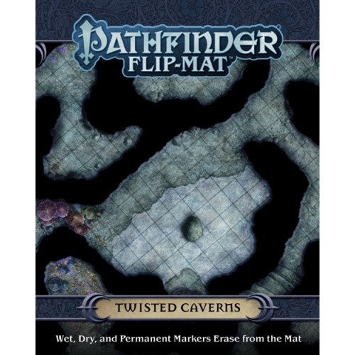 Pathfinder - Flip Mat - Twisted Caverns - 401 Games
