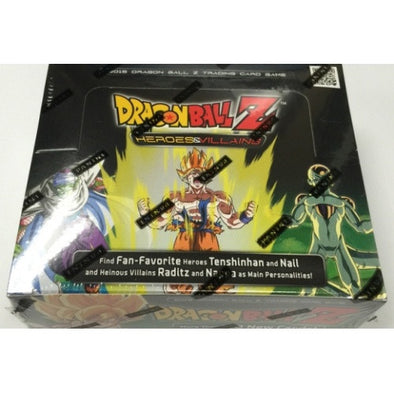 Buy TCG Dragonball Z - Heroes & Villains - Booster Box and more Great Dragonball Z Products at 401 Games