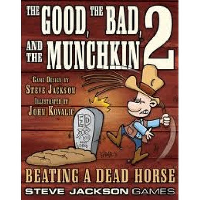 Munchkin - The Good, The Bad, And The Munchkin 2: Beating A Dead Horse available at 401 Games Canada
