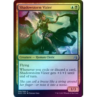 Shadowstorm Vizier (Foil) (AKH) available at 401 Games Canada