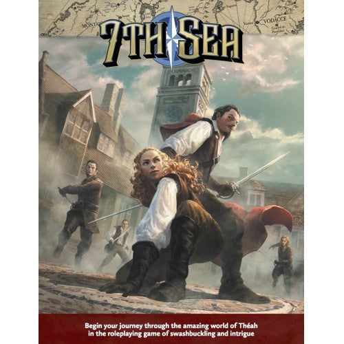 7th Sea - Core Rulebook available at 401 Games Canada