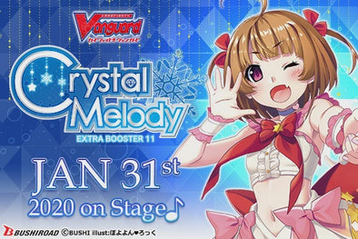 CARDFIGHT VANGUARD - V Extra Booster 11: Crystal Melody (Pre-Order January 31, 2020)
