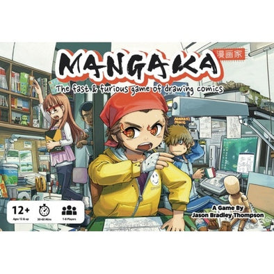 Buy Mangaka - The Fast and Furious Game of Drawing Comics and more Great Board Games Products at 401 Games