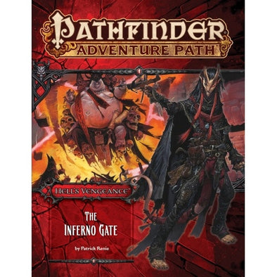 Buy Pathfinder - Adventure Path - #105: The Inferno Gate (Hell's Vengeance 3 of 6) and more Great RPG Products at 401 Games