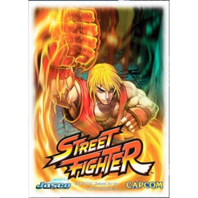 Dragon Shield - 100ct Standard Size - Art - Street Fighter - Ken - 401 Games