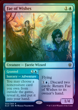 Fae of Wishes // Granted (Foil) (ELD) available at 401 Games Canada