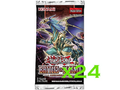 Yugioh - Battles of Legend: Armageddon - 1st Edition Booster Pack (Bundle of 24) available at 401 Games Canada