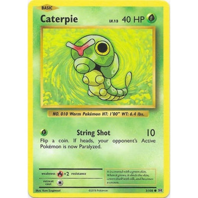Buy Caterpie - 3/108 and more Great Pokemon Products at 401 Games