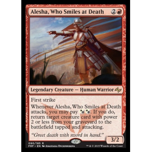 Alesha, Who Smiles at Death - 401 Games