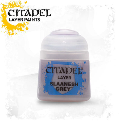Buy Citadel Layer - Slaanesh Grey and more Great Games Workshop Products at 401 Games