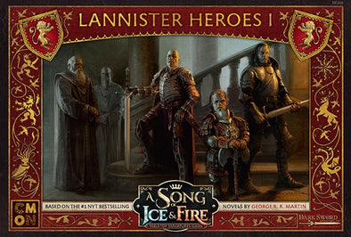 A Song of Ice and Fire - Tabletop Miniatures Game - House Lannister - Lannister Heroes 1 available at 401 Games Canada