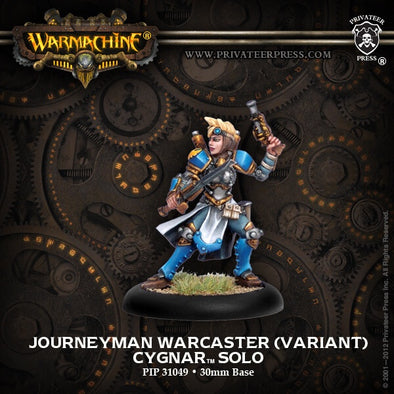 Buy Warmachine - Cygnar - Journeyman Warcaster (Variant) and more Great Tabletop Wargames Products at 401 Games