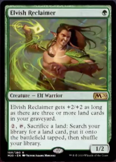 Elvish Reclaimer (M20) - 401 Games