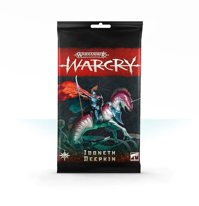 Warhammer - Age of Sigmar - Warcry - Idoneth Deepkin Card Pack ** - 401 Games