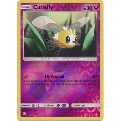 Buy Cutiefly - 92/149 - Reverse Foil and more Great Pokemon Products at 401 Games