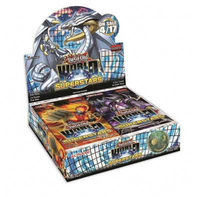 Buy Yugioh - World Superstars - Booster Box and more Great Yugioh Products at 401 Games