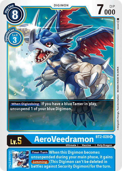 AeroVeedramon (BT2-028) available at 401 Games Canada