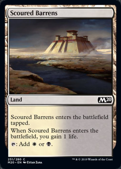 Scoured Barrens (M20) - 401 Games