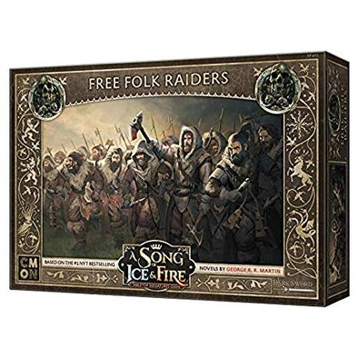 A Song of Ice and Fire - Tabletop Miniatures Game - Free Folk - Free Folk Raiders - 401 Games