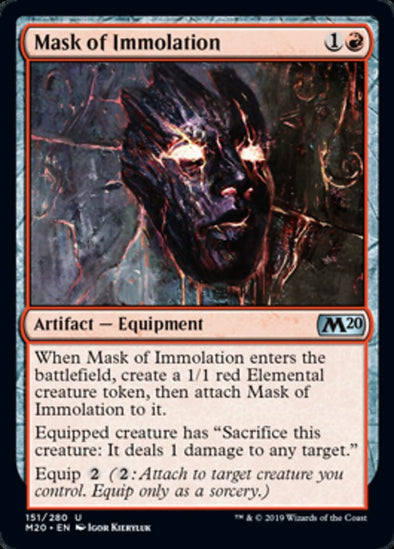 Mask of Immolation (M20) - 401 Games