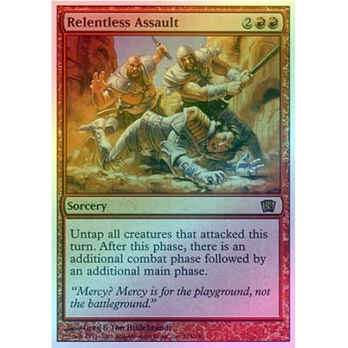 Relentless Assault (Foil) available at 401 Games Canada