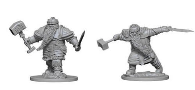 Dungeons and Dragons Nolzur's Marvelous Unpainted Minis: Dwarf Male Fighter - 401 Games
