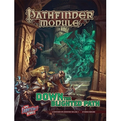 Buy Pathfinder - Module - Down the Blighted Path and more Great RPG Products at 401 Games