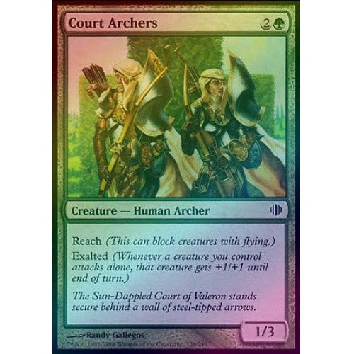 Court Archers (Foil) (ALA) available at 401 Games Canada