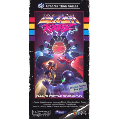 Buy Lazer Ryderz and more Great Board Games Products at 401 Games