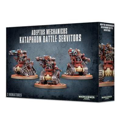 Buy Warhammer 40,000 - Adeptus Mechanicus - Kataphron Battle Servitors and more Great Games Workshop Products at 401 Games