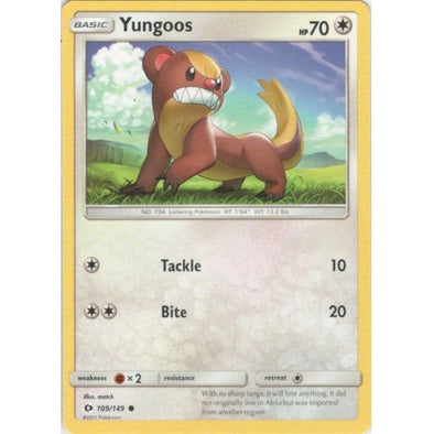 Yungoos - 109/149 - 401 Games