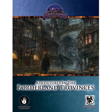 Swords & Wizardry - Book - The Lost Lands: Adventures in the Borderland Provinces