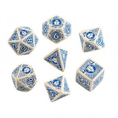 Buy Dice Set - Q-Workshop - 7 Piece Set - Pathfinder - Mummy's Mask and more Great Dice Products at 401 Games