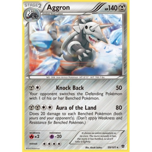 Aggron - 59/101 (PLB059) available at 401 Games Canada