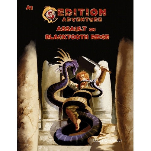 Dungeons and Dragons - 5th Edition - 5th Edition Adventures: A1 - Assault on Blacktooth Ridge - 401 Games