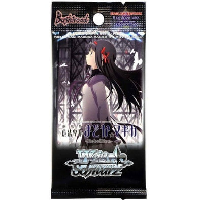 Buy Weiss Schwarz - Madoka Magica Rebellion - English Booster Pack and more Great Weiss Schwarz Products at 401 Games
