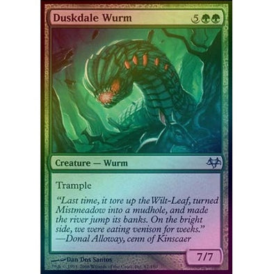 Duskdale Wurm (Foil) (EVE) available at 401 Games Canada
